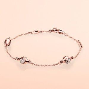 Pandora Pavé Modern LovePods Bracelet